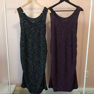 Liz Lange Set of 2 midi dresses